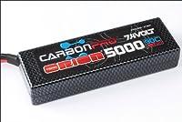 Carbon Pro LiPo 5000mAh 90C 7.4V、Deans