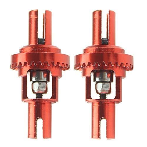 GzxLaY Nuevo 2 uds para K989-26 K969-29 diferencial de Bola de Metal Adecuado para Wltoys K969 K989 K979 K999 P929 P939 1/28 Piezas de Repuesto de Coche RC Accesorios de Repuesto ( Color : Red )