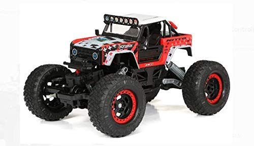 Cyber Distributors 4x4 1:15 Scale Radio Controlled Bronco Rock Crawler 2.4GHz Waterproof Off-Road Truck for Kids and Adults - with Bonus Cyber Distributors Exclusive Bonus Car!