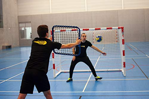 POWERSHOT® Rebounder - Rebounder Fußball - 61 x 61cm - Hand REBOUNDER - Torwart Training - Mini Rebounder
