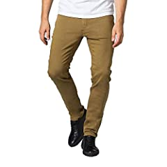 NO SWEAT PANT SLIM: Designed for do-ers by DUERs, with 30% Power Stretch! A modern fit that sits close to the body – slim to the body through the hip and thigh, tapering to the hem – without inhibiting mobility. Comfort, and Color Lock, with the Dura...