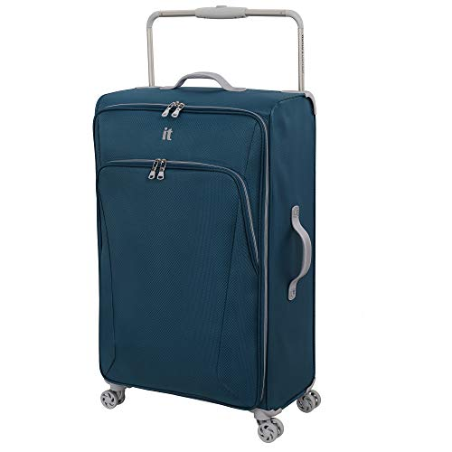 it luggage Sprightful World's Lightest Softside Spinner, Legion Blue, Checked-X-Large 32-Inch