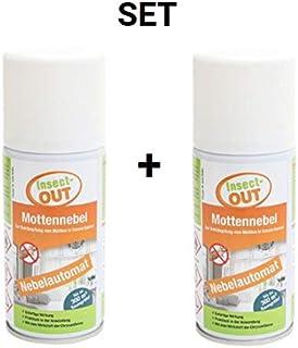 Insect-OUT 2er Set Mottennebel 150 ml - Mit dem Wirkstoff der Chrysanthemenblume