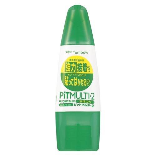 トンボ鉛筆 液体のりピットマルチ2 PT-MT 00019404【まとめ買い10個セット】