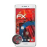 atFolix Schutzfolie kompatibel mit Oppo R7s Folie, entspiegelnde & Flexible FX Bildschirmschutzfolie (3X)