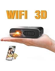 ミニ プロジェクター DLP 小型 Artlii 3D対応 HDMI 対応 大角度 自動台形補正 WIFI機能支持 3時間連続使用 5200mAh充電式バッテリー内蔵 モバイルオフィスや家庭での使用をサポート