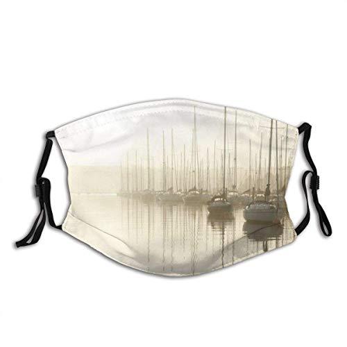 Gesichtsschutz Mundschutz River Yachts Sunrise Cork Crosshaven Irland Sturmhaube Mund Bandanas Halsmanschette mit 2 Filtern