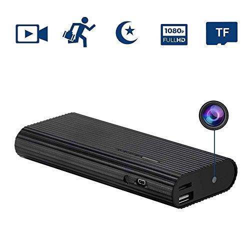 Oumeiou 16GB Spy camera batteria Power Bank caricatore portatile da viaggio con sensore di movimento DVR 1920x 1080p video voce nascosta telecamera registratore