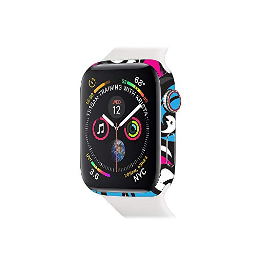 MightySkins Skin Compatible with Apple Watch Series 4 & 5 & 6 40mm - Swirly Protective, Durable, and Unique Vinyl Decal Wrap Cover Easy to Apply, Remove, and Change Styles Made in The USA