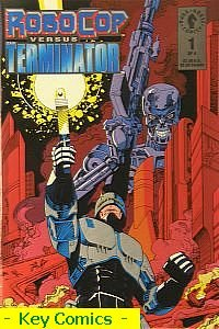 RoboCop vs Terminator # 1 ( Original American COMIC )