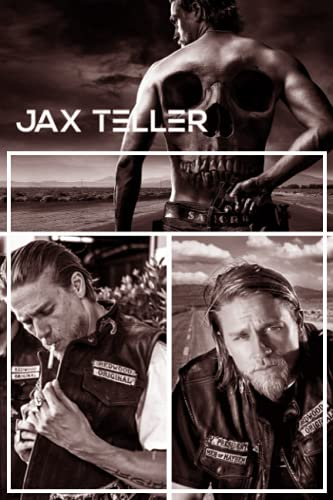 Jax Teller Notebook: Lined Pages Notebook Small Size 6x9 inches / 110 pages / Original Design For Cover And Pages / It Can Be Used As A Notebook, Journal, Diary, or Composition Book.