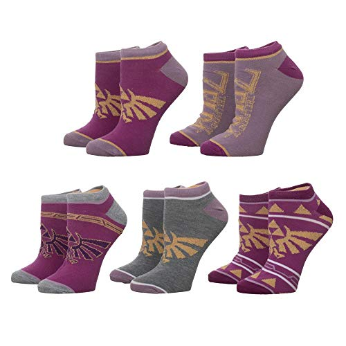 Twilight Princess Legend Of Zelda Damen Socken 5 Paar