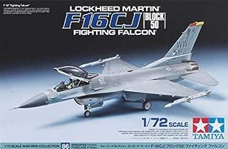 Tamiya America, Inc 60786, 1/72 Lockheed Martin, F-16 Fighting Falcon, TAM60786