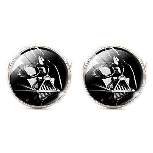 Star Wars Darth Vader Cosplay Cufflinks Manschettenknöpfe