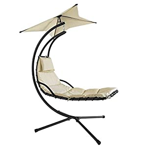 SoBuy Hammock Swing Helicopter Chair Sun Lounger
