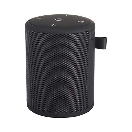 Sebasty Negro Bluetooth inalámbrico mini altavoz al aire libre portátil TF FM radio estéreo HD audio Bluetooth Soundbar