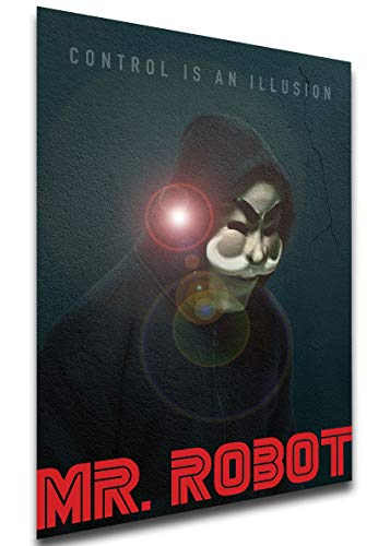 Instabuy Poster - TV Series - Playbill - Mr Robot Variant 09 A3...