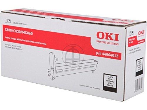 Original OKI 44064012 Bildtrommel (schwarz, ca. 20.000 Seiten) für CX 2633; C 801, 810, 821, 830; MC 851, 860, 861