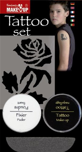 Cesar - C360-001 - Set Tatouage - Rose