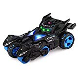 3-in-1 Batman avec Rc Car Ejection Fonction 01:32 Moto Safe Voitures Métal en Alliage Diecast Model Car Collection pour Enfants Adultes