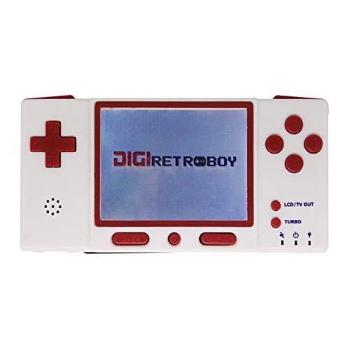 Zero starting point Manette Tournament Edition, Arcade Classique, Controller Manette du Contrôleur De Jeu, Wireless Bluetooth Gamepad Controller, Jeu Aucune Latence pour GBA FC GB NES,Rouge