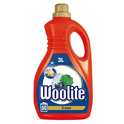 Woolite Color – Pflegendes Feinwaschmittel für bunte Wäsche – Für 50 Waschladungen – 1er Pack (1 x 3 l)