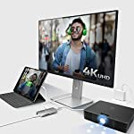 j5create USB C Hub Adapter Multi-Monitor 10-in-1 Port Docking Station 4K HDMI, VGA, Ethernet, USB 3.0, MicroSD, SD, USB… 15 Allows you to connect your laptop to an additional monitor via HDMI or VGA. USB C multi-adapter gives you 2 USB Type-A ports for additional peripherals and 1 USB Type-A port with BC 1.2 to fast-charge your mobile devices. Two USB 3.1 Gen 1 ports provide up to 5 Gbps transfer speed, which is 10x faster than USB 2.0