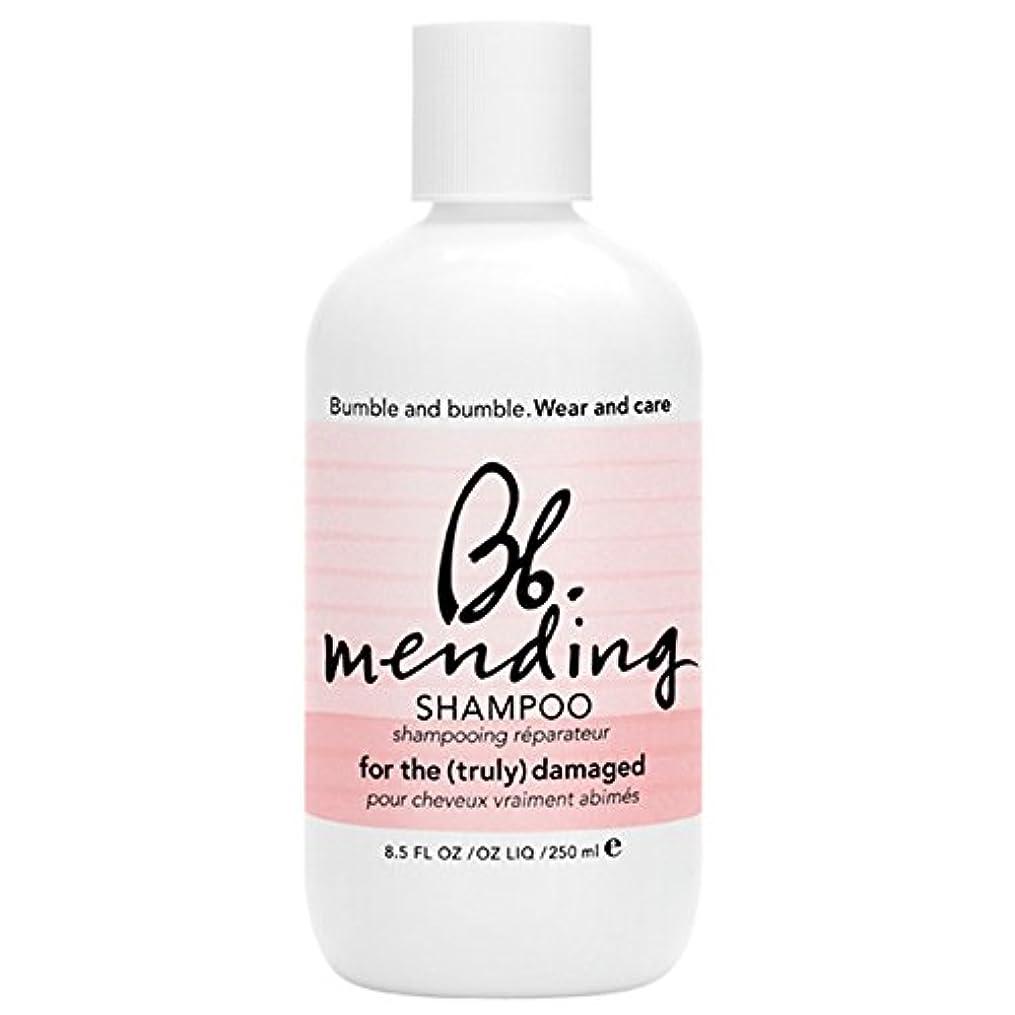要旨奇妙なムスバンブルアンドシャンプー250ミリリットルを補修バンブル (Bumble and bumble) - Bumble and bumble Mending Shampoo 250ml [並行輸入品]