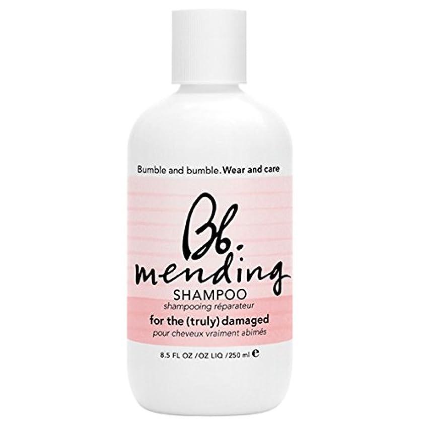 感謝祭任意モニカバンブルアンドシャンプー250ミリリットルを補修バンブル (Bumble and bumble) - Bumble and bumble Mending Shampoo 250ml [並行輸入品]