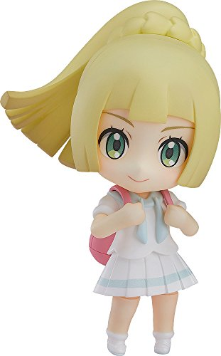 Good Smile Pokemon: Lively Lillie Nendoroid Action Figure
