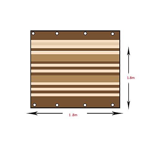 Voiles d'ombrage Voile d'ombrage UV de bloc UV beige de tissu d'ombre parfait pour le jardin extérieur de patio Tailles personnalisées disponibles (taille : 1.35 * 0.9m)