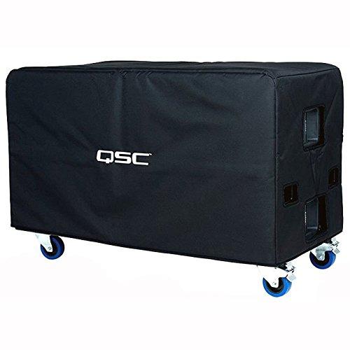 QSC E218SW-CVR Schutzhülle für E218 Subwoofer, weich gepolstert, Cordura-Nylon