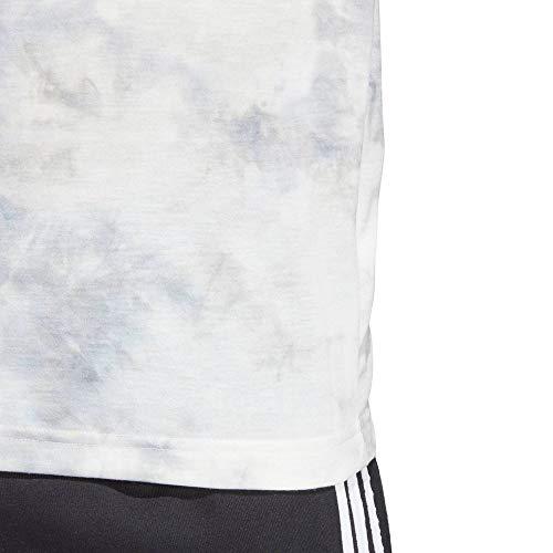 adidas ID Spray Dye - Camiseta para Hombre, Evergreen, ID Spray Dye, Hombre, Color Rawwht, tamaño Large