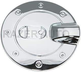 Razer Auto Chrome Fuel Gas Door Cover for 04-12 Chevy Colorado Crew Cab / 04-12 GMC Canyon Crew Cab