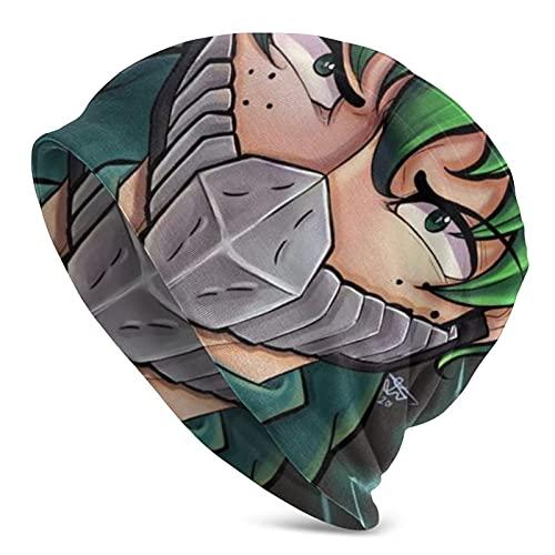 Gorro Slouch de My Hero Academia Amino, para hombre y mujer, con diseño de calavera, para verano, otoño, invierno