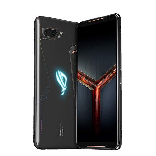 "ASUS ROG Phone II Dual SIM (ZS660KL) Tencent版 ゲーミングスマートフォン(SIMフリー) 8+128GB / 6.59"" / Snapdragon 855+ / 802.11ad対応 / QC 4.0 (Black/ブラック) 並行輸入品"
