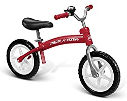 Radio Flyer 800X Glide Balance Bike - For 2.5, 3, 4, 5 Year Olds