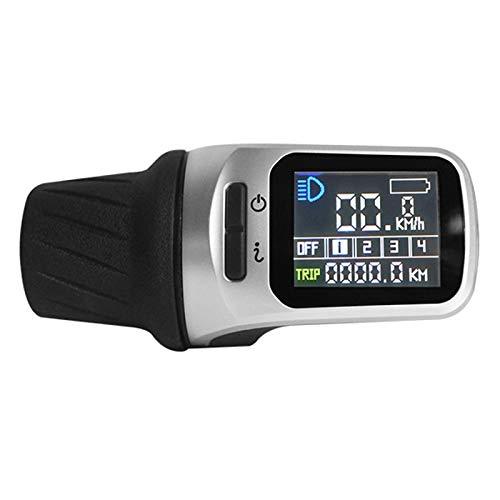 FUIKEING Pantalla LCD XH18 para TongSheng TSDZ2 Motor de Accionamiento Medio Bicicleta EléCtrica Bicicleta Ebike Accesorios de ModificacióN Piezas