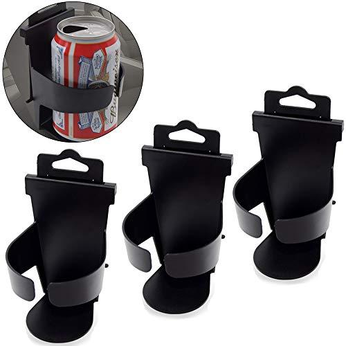 Hpamba Getränkehalter klappbar Dosenhalter Universal Auto Getränke Ständer Universal LKW Boot Getränkehalter Getränkehalter Dosenhalter Einfach Flaschenhalter Becherhalter Boot Wasser Cupholder 3Stück