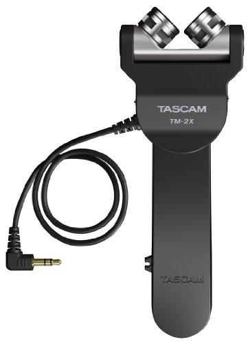 TASCAM(タスカム)『デジタル一眼レフ用X-Y高音質ステレオマイクTM-2X』