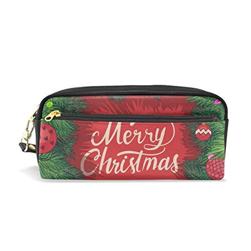imobaby Marco de Navidad con ramas de abeto bolsa portátil de piel...