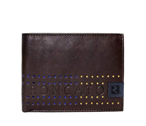 Roncato Portafogli uomo wallet 10224 moro moda italiana