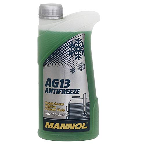 MANNOL 15752800100 Antifreeze AG13-40 Kühlerfrostschutz Kühlmittel 1L MN4013-1