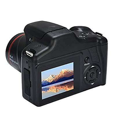 Cisawio Video Camera Camcorder HD 720P Digital Camera, 16X Digital Zoom Camcorder, 16 Million Pixels 2.4In LCD Screen from cisawio
