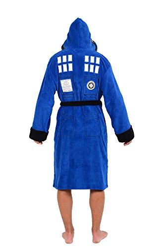 Doctor Who TARDIS Fleece Bathrobe Standard