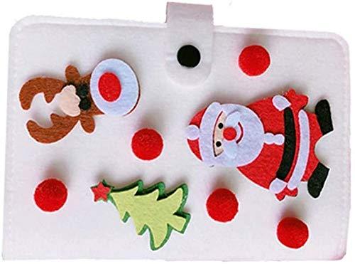Diario de Navidad Planificador Notebook Revistas cuaderno del diario de la fiesta de Navidad Bolsa Estudiante Rellenos dljyy