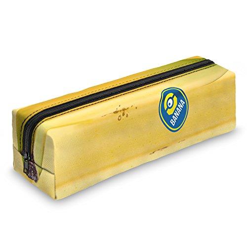 Minion Banana estuche escolar–Estuche escolar Bolígrafos estuche caja lápices Escuela Maquillaje Pinceles Box