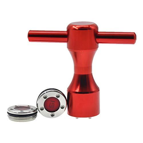 Histar Golf-Gewichte + roter Schraubenschlüssel für Titleist Scotty Cameron Putter, 2 Stück