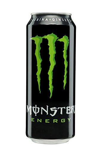Monster, Green, Bebida energética, Energiedrankje Green, 500 ml, In blikje