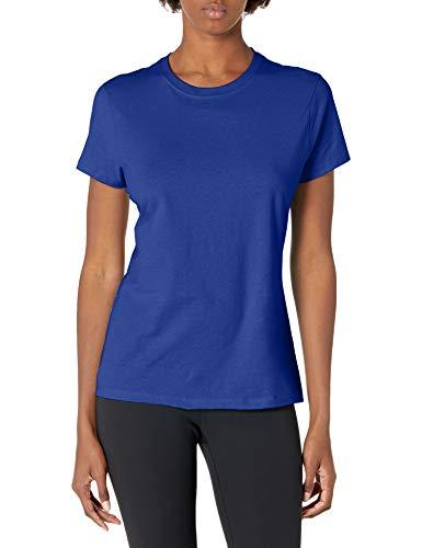 Hanes Women's Nano T-Shirt, Medium, Deep Royal